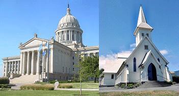 Image of church, Oklahoma Capitol