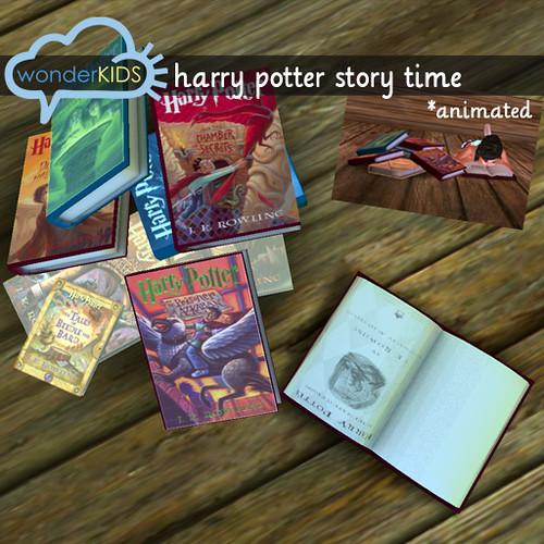 <(wonderkids)! harry potter story time