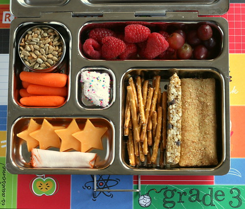 2nd day of 3rd grade lunch