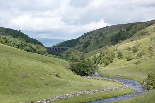 Smardale Gill Viaduct in the distance