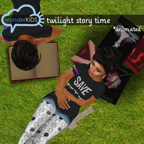 <(wonderkids)! twilight story time display