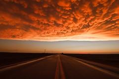 Flint Hills Sky (Z S K) Tags: sunset sky storm clouds canon sunsets kansas thunderstorm storms thunderstorms kansasthunderstorms