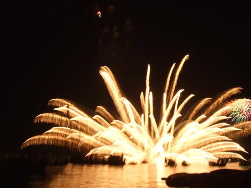 宮島水中花火大会 2010 画像10