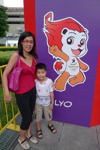 Opening Ceremony of Singapore YOG 2010