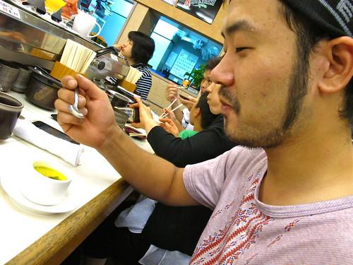 100814 あじわい回転寿司 禅 ワンサゲン!