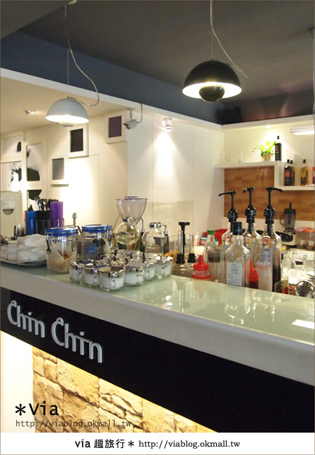 【台北東區美食】時尚午茶首選~Chin Chin Cafe蜜糖吐司10