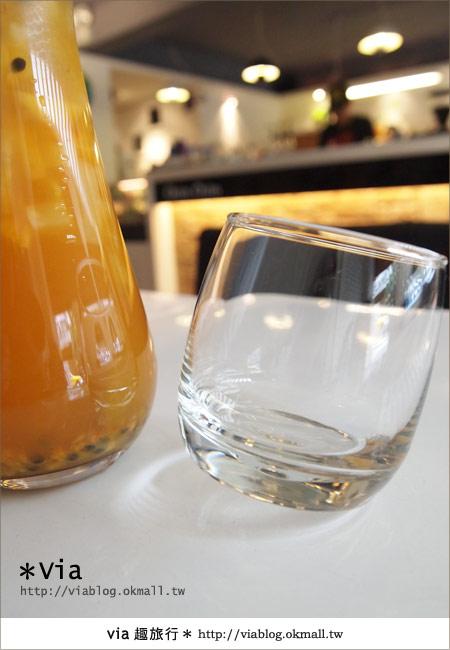 【台北東區美食】時尚午茶首選~Chin Chin Cafe蜜糖吐司14