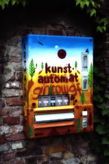 kunstautomat (Paul mit dem Pinscher) Tags: art germany deutschland kunst brandenburg werder artmachine kunstautomat automamat