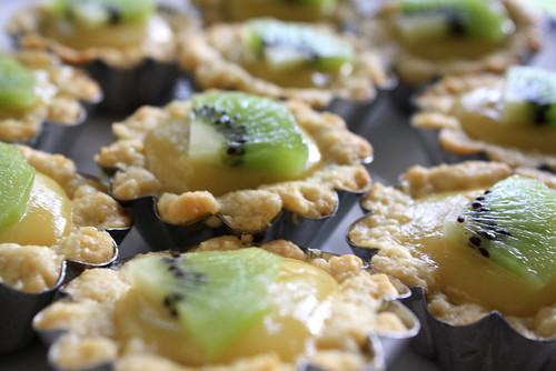 Kiwi Lime Tarts