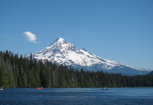 Lost lake and Mt. Hood
