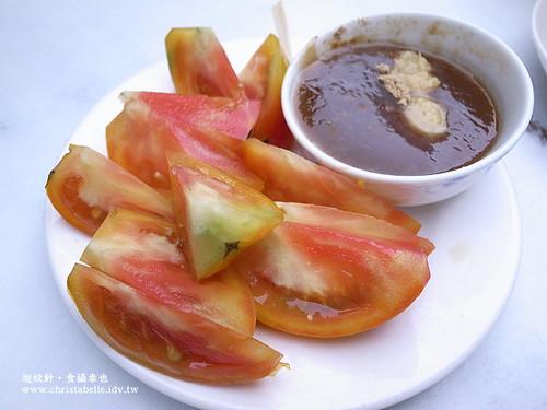 莉莉冰果室薑汁醬油膏蕃茄