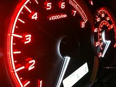 Subaru Gauges (bluejetjane) Tags: cluster subaru impreza wrx speedometer gauge odometer gage 2010 tach tachometer iphone sooc iphone3gs