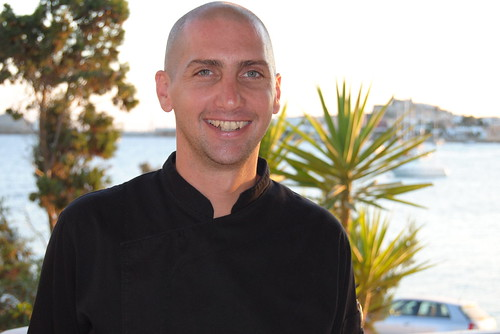Diego Dechecco, chef at Sa Punta restaurant