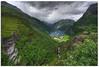 fiord Geiranger (Mariusz Petelicki) Tags: norway norge fiord hdr 3xp skandynawia mariuszpetelicki norewgia fiordgeiranger