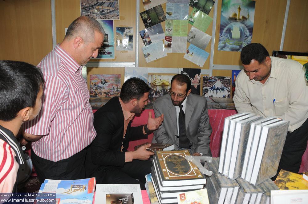زيارة عضو البرلمان الحاج عبد الاله الى جناح العتبة الحسينية المقدسة