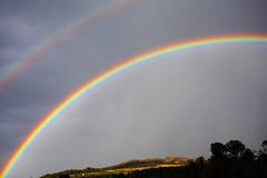 Double rainbow (turgidson) Tags: ireland sky cloud rain canon dark studio lens eos rainbow raw day angle zoom mark wide wideangle full developer ii frame pro l 5d usm fullframe dslr wicklow ef 1740mm f4 canonef1740mmf4lusm mk bray converter markii silkypix img7930 50club canoneos5dmarkii 41300 canoneos5dmkii silkypixdeveloperstudiopro41300 pwgen