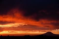 Hot (nwsteve) Tags: sunset mountain adams goldendale klickitat