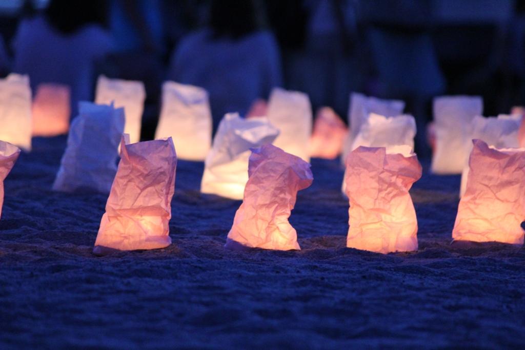 Paper Lantern Festival in Odaiba 2010 (1)