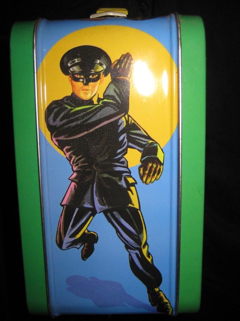 Green Hornet Kato Metal Lunch Box 1837