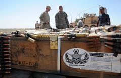 Checking Explosives (America's Navy) Tags: military iraq sailors eod militar usnavy explosives technicians munitions unitedstatesnavy marineros explosivo