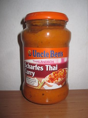 Uncle Bens Scharfes Thai Curry (Like_the_Grand_Canyon) Tags: fertig sose mischung
