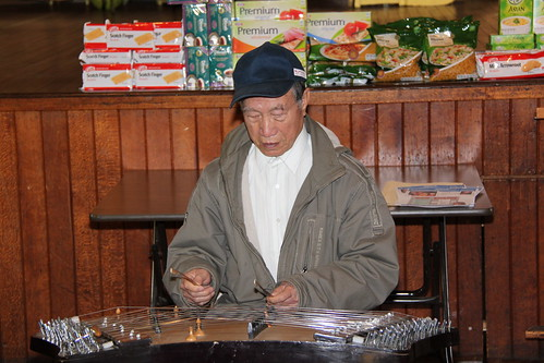 Master Lee performing on the Chinese Piano (18 August 2010)