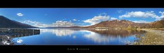 Loch Rannoch (Kit Downey) Tags: winter panorama clouds scotland stitch panoramic loch feb lochrannoch kinlochrannoch scottishloch canoneos400d scottishwater canoneosrebelxti kitdowney scottishshoreline
