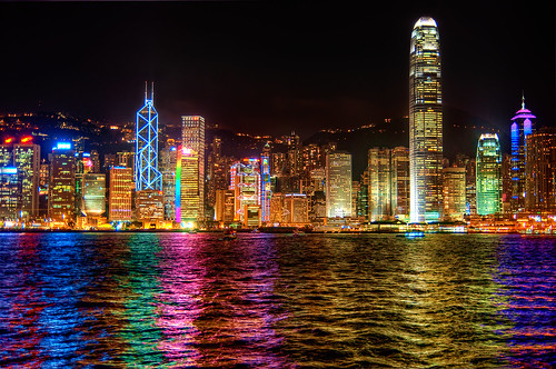 Hong Kong Skyline From Kowloon!