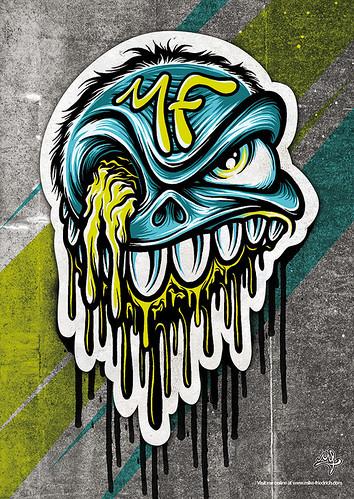 MF Skull poster
