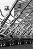 lifting (B.Jansma) Tags: sky bw white black art lines amsterdam 30 big artist ship crossing many kunst tires huge sail lucht viewpoint kunstenaar alot thirty javaeiland schip groot veel banden hoogte hoogwerkers riwal boomliftship