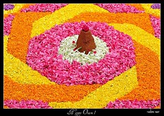 Wish you all a Colourful and Joyous Onam ! (RashmiNair) Tags: flowers festival kerala rashmi onam nair pookkalam rashminair