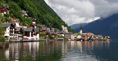 Town reflection (vic_206) Tags: reflection water austria town agua pueblo reflejo hallstatt canoneos7d tokina1116