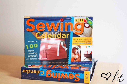 Featured in the new 2011 Sewing Calendar