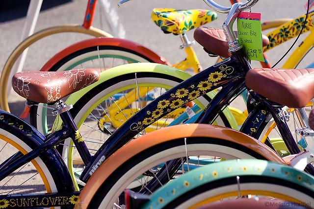 Steveston bicycles