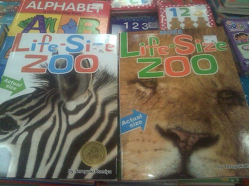Life-Size Zoo Book