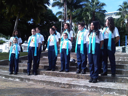 Choir in New Caledonia