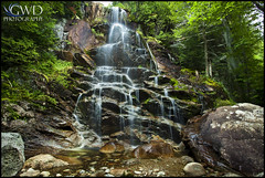 Beaver Meadow Falls (GWD Photography) Tags: newyork nature water rock forest canon outdoors photography eos waterfall moss high woods long exposure angle wide adirondacks filter gordon 5d peaks polarizer region cascade 1740 circular mrc markii gwd beavermeadowfalls viaflickrqcom