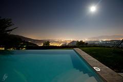 Lucca by Moonlight (fensterbme) Tags: nightphotography italy reflections interestingness moonlight hilltop infinitypool interestingness18 i500 aquilea fenstermacherphotography luccatuscany villaaquilea explore22aug10