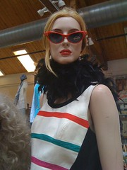GAGA-FICATION AT Nine Live's Vintage (Mannequin Magic) Tags: from view you photo