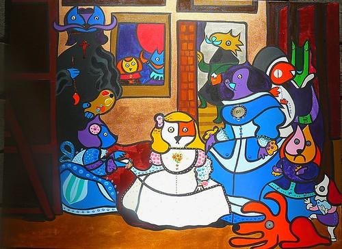 Las Mininas (versión 2010) by Parodias de Pinturas Famosas