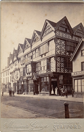Ancient High House, Stafford. 1880s?