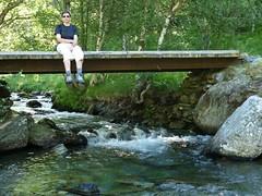 Palanca sobre el riu Noarre (Daguerrotipo2009) Tags: montaa pirineos valldecards