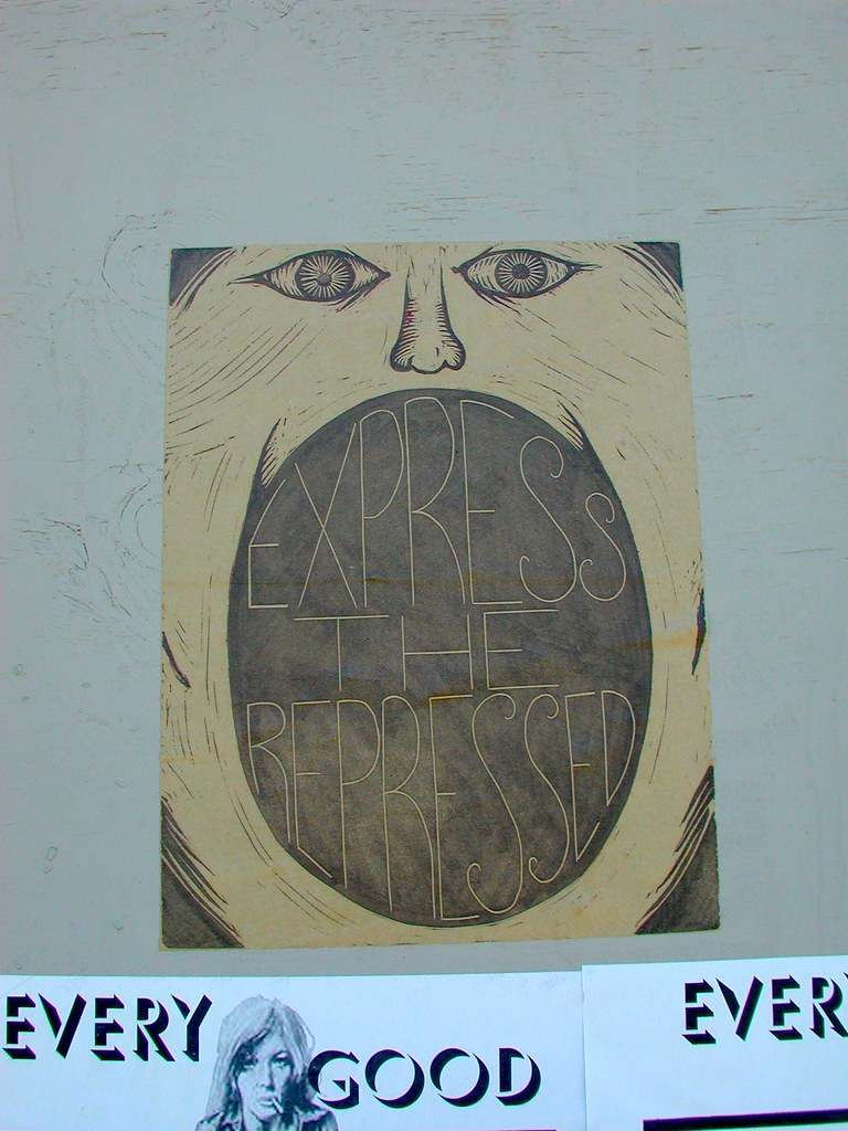 NUCLEAR WINTER, Street Art, Graffiti, poster, paste, Oakland