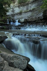 Middle Rockway Falls (Thankful!) Tags: creek waterfall stream falls brook niagaraescarpment brucetrail rockwayfalls fifteenmilecreek middlerockwayfalls