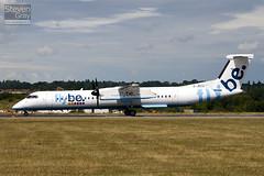 G-JECU - 4146 - FlyBe - De Havilland Canada DHC-8-402Q Dash 8 - Luton - 100712 - Steven Gray - IMG_7248