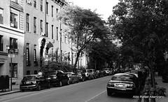 Chelsea Street (Rafakoy) Tags: street city bw white ny newyork black building cars film 35mm buildings 50mm photo chelsea kodak manhattan f100 negative epson kodakbw400cn c41 nieghbourhood realphotography nikkoraf50mmf18d epsonv600 epsonperfectionv600photo epsonperfectionv600 aldorafaelaltamirano rafaelaltamirano aldoraltamirano