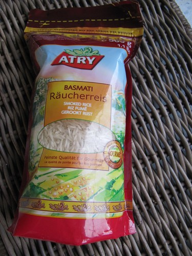 geräucherter Reis