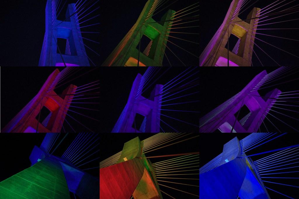 [分享]新北大橋 - 新手拍攝,照片傷眼見諒!