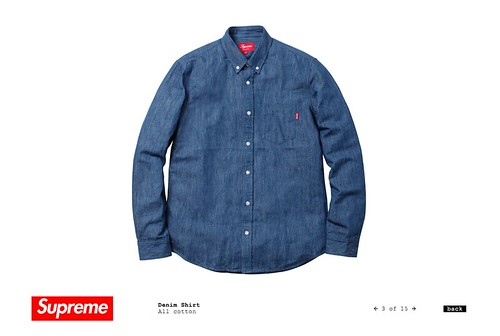 Supreme / Denim Shirt