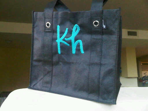 Grocery Tote Personalized